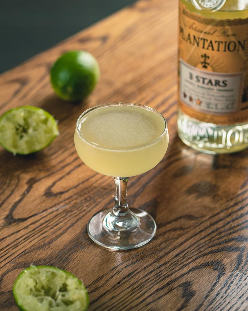 Rum, lime and sugar make the perfect daiquiri