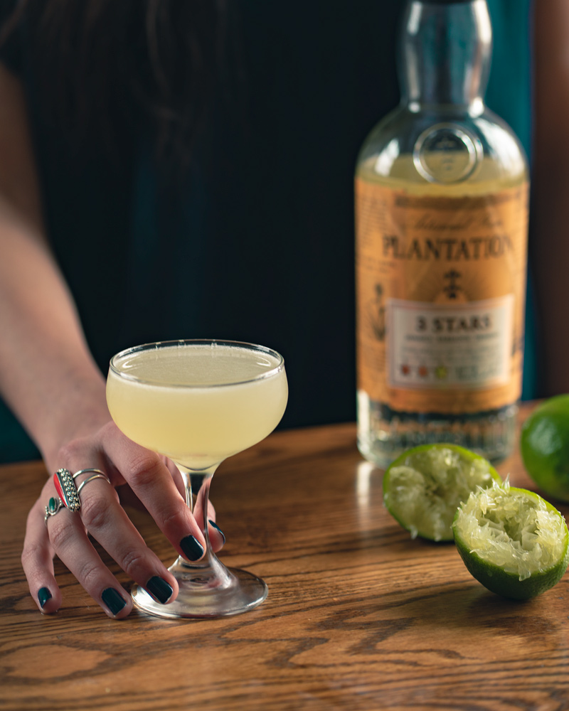 the daiquiri is the ultimate cocktail with rum and lime