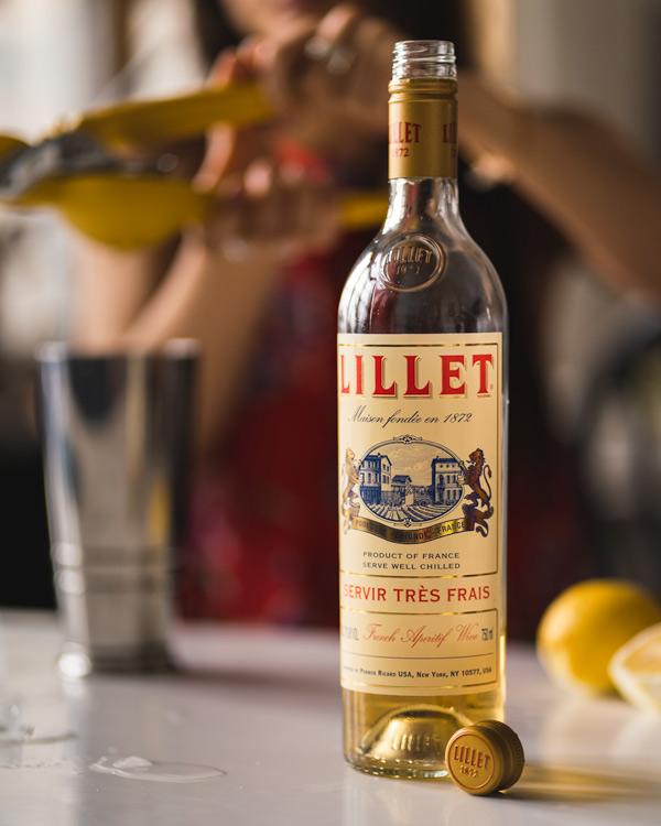 Bottle of Lillet Blanc