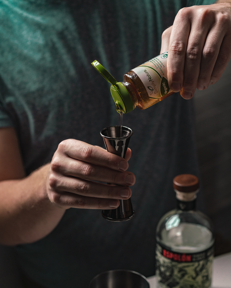 Blue agave syrup to sweeten your margarita