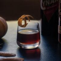 Make a twist on a Manhattan with rye and cynar