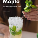 How to make a classic mojito cocktail pinterest