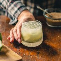 The Lime and Rum Caipirinha