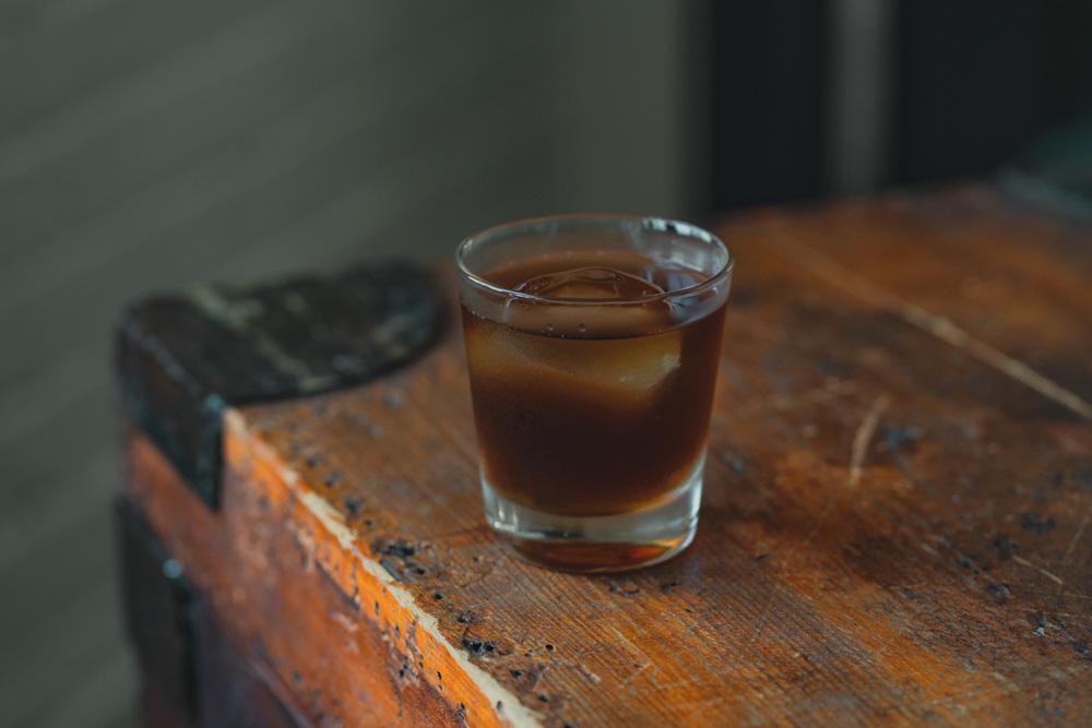 Halloween cocktail Called Shot