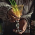 Pinterst Clear Jungle Bird Tiki cocktail