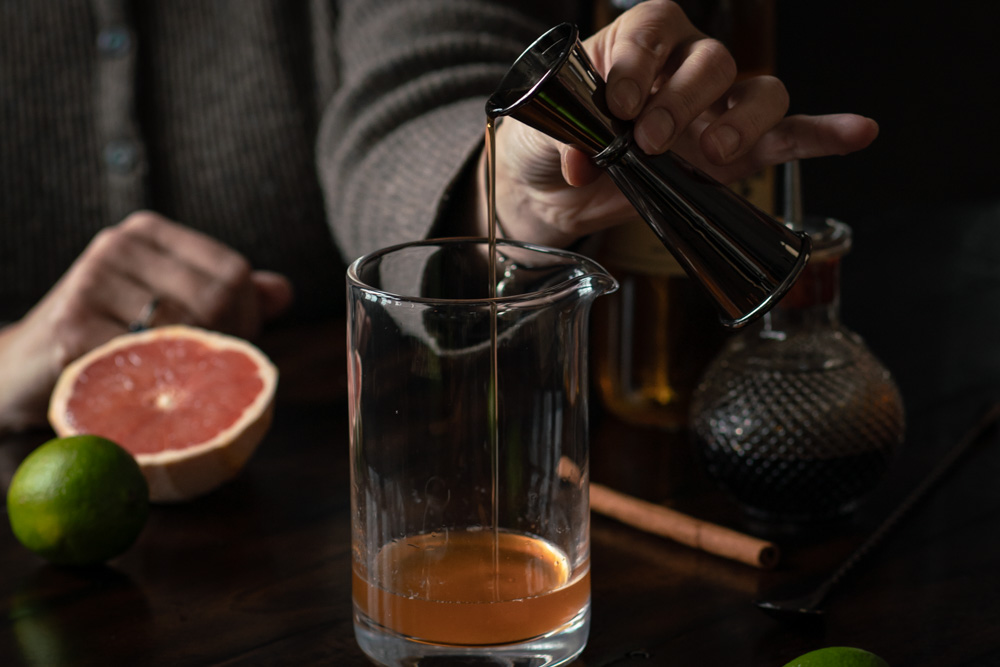 Cinnamon Syrup for the Rum Old Fashioned