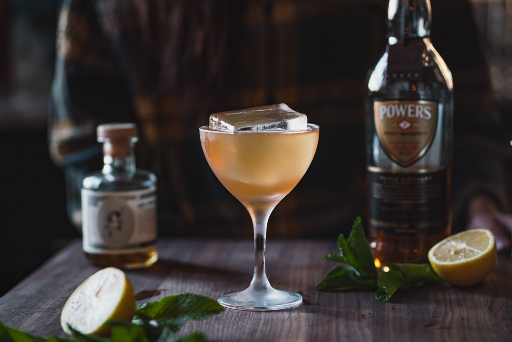 Honorable Mention Powers Whisky cocktail
