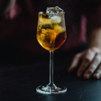 The Spanish Fizz is a simple 3 ingredient drink