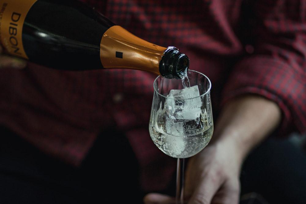 The Spanish Fizz Sparkling Wine Cocktail