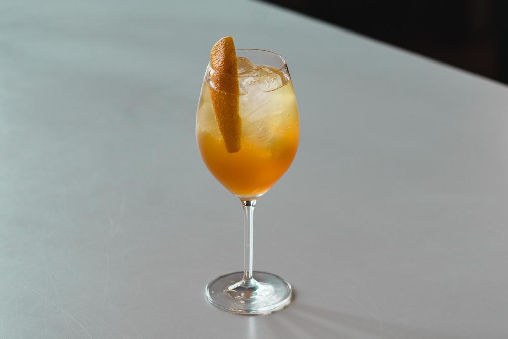 Topaz Amaro Spritz Cocktail