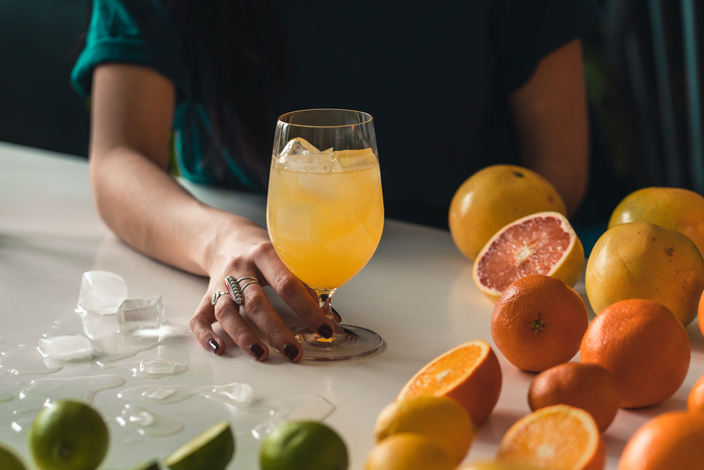 how to make a gin and juice