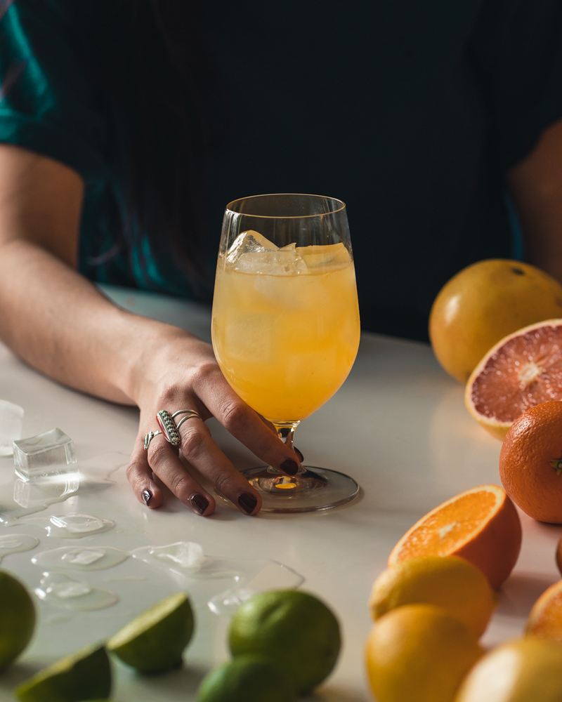 what ingredients to used for a gin and juice