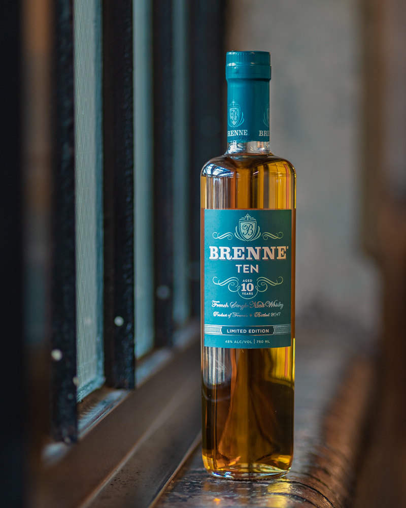 Brenne 10 year old french whiskey