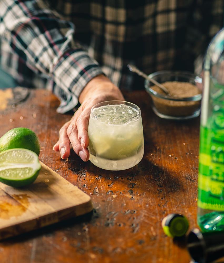 Caipirinha Cocktail recipe with lime and cachaca