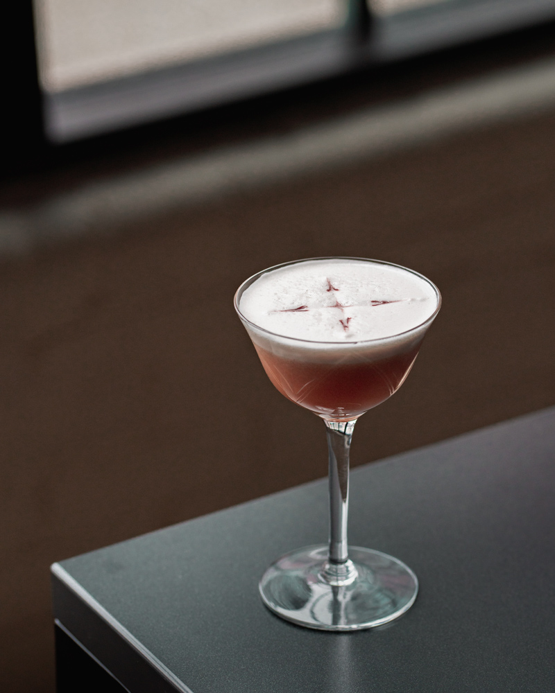 Recipe for the Pink Lady Cocktail