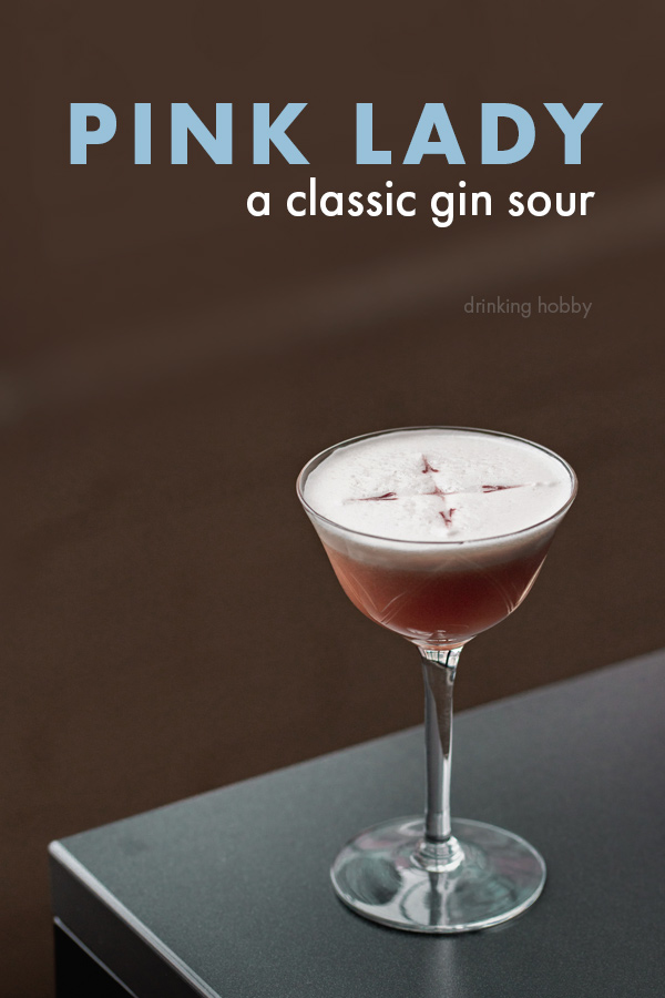 Share the Pink Lady Cocktail on Pinterest
