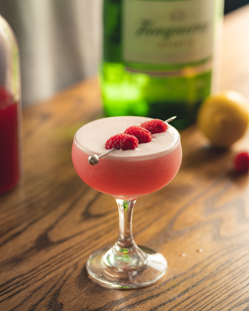 The Clover Club Cocktail