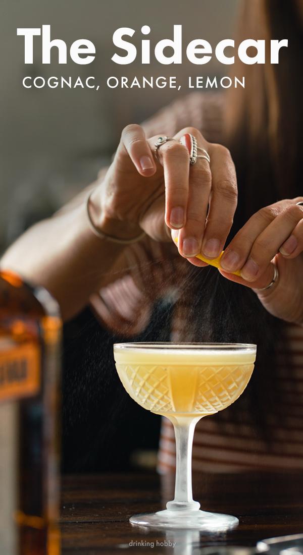 Sidecar Cocktail Recipe Pinterest