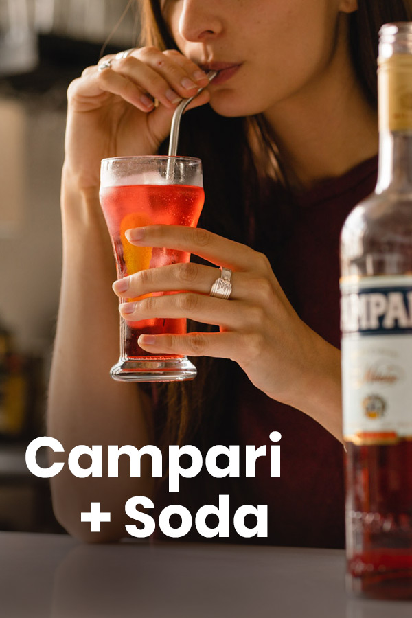 Campari Soda Pin