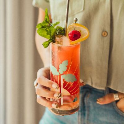 Bourbon Buck Cocktail